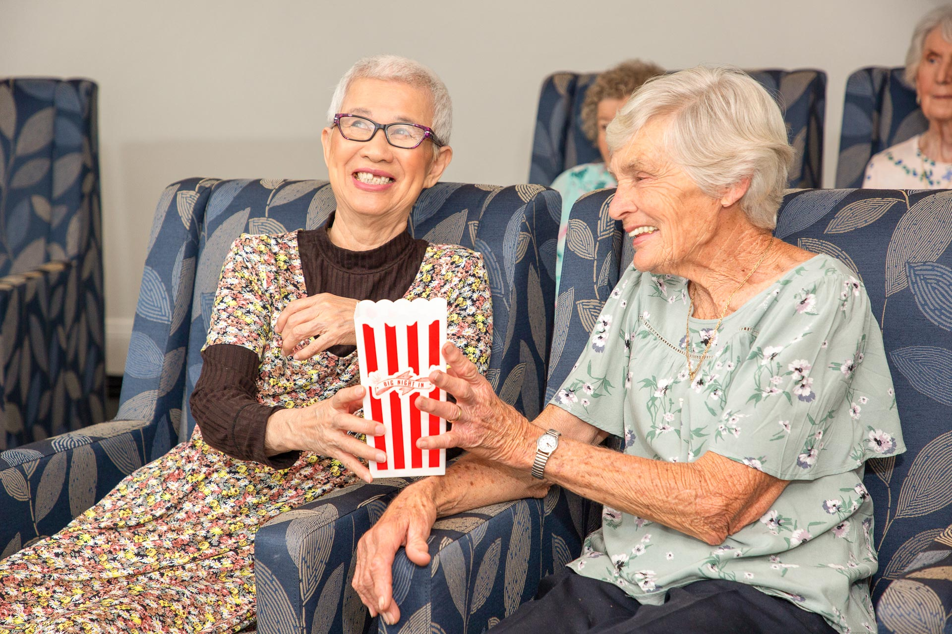 CraigCare-Residential-Aged-Care-Home-Lifestyle-Movie-Cinema